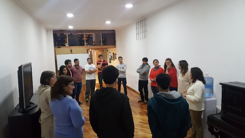 Momentos de la formación de Facilitador en Coaching Ontológico…